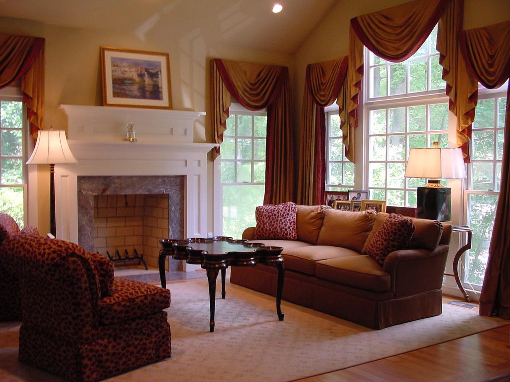 Amerikanischer Landhausstil Wohnzimmer