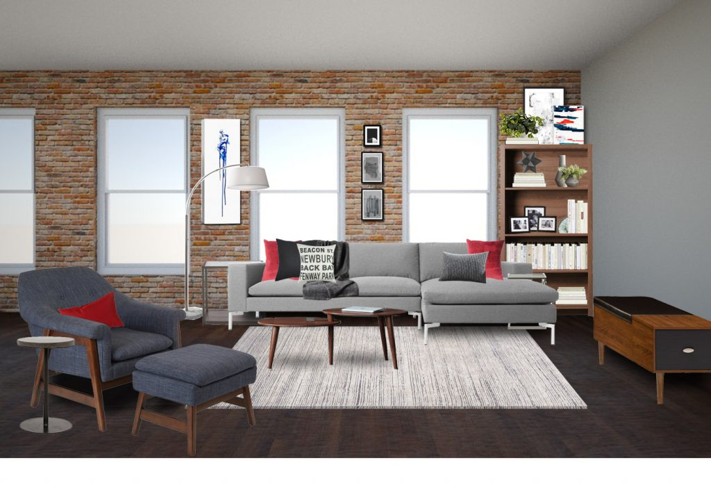 Soho Industrial Living Room