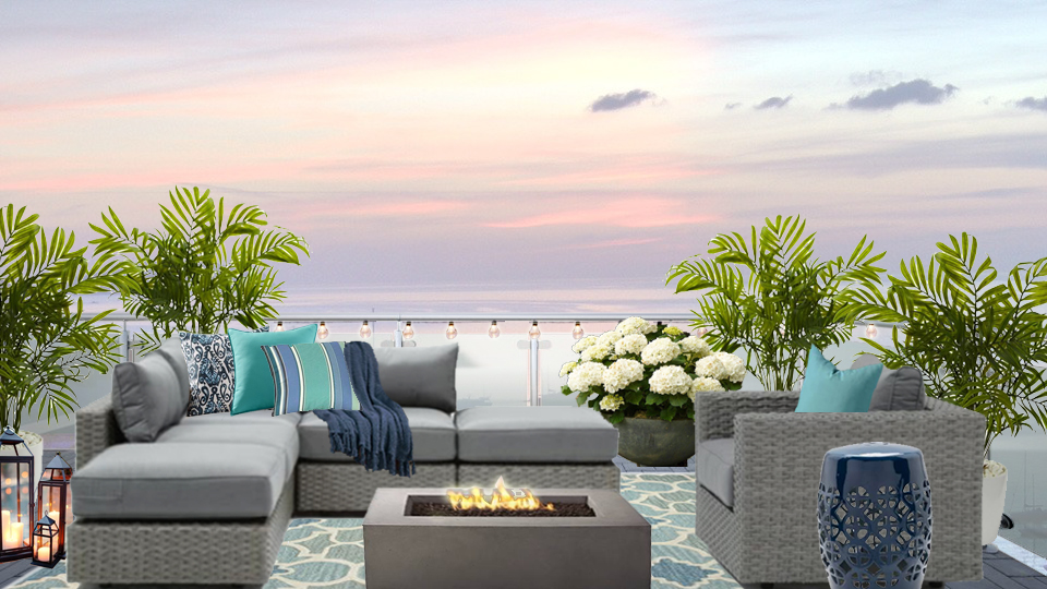 Contemporary Rooftop Deck Design